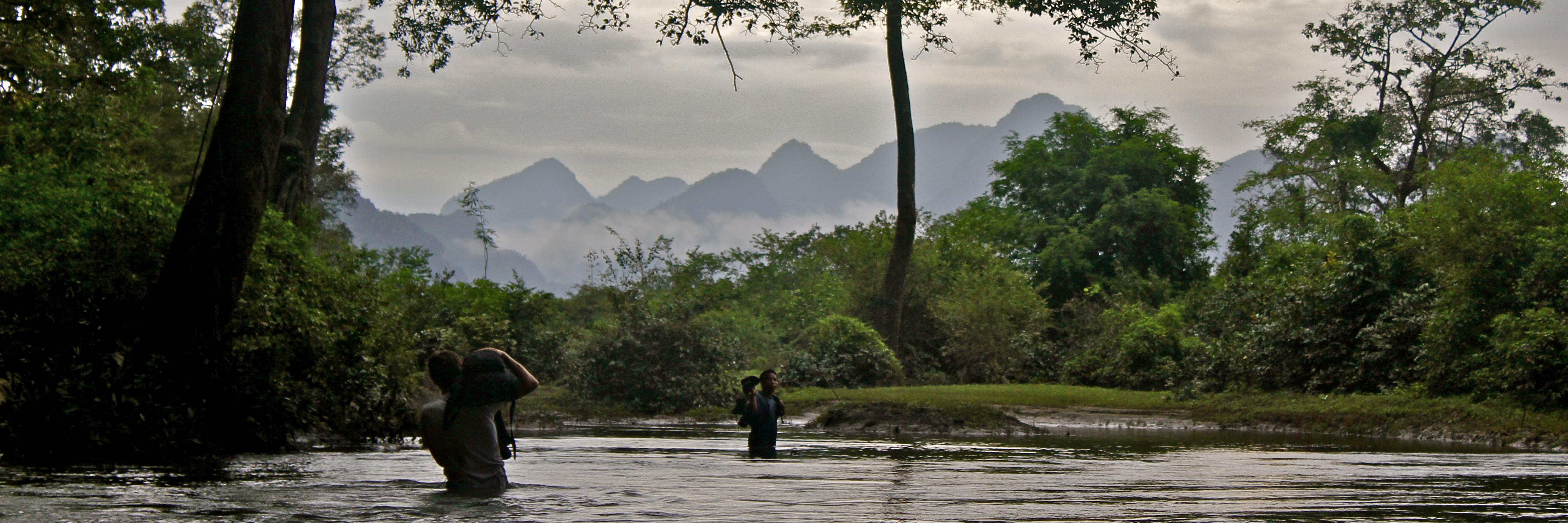 Survival w Laosie