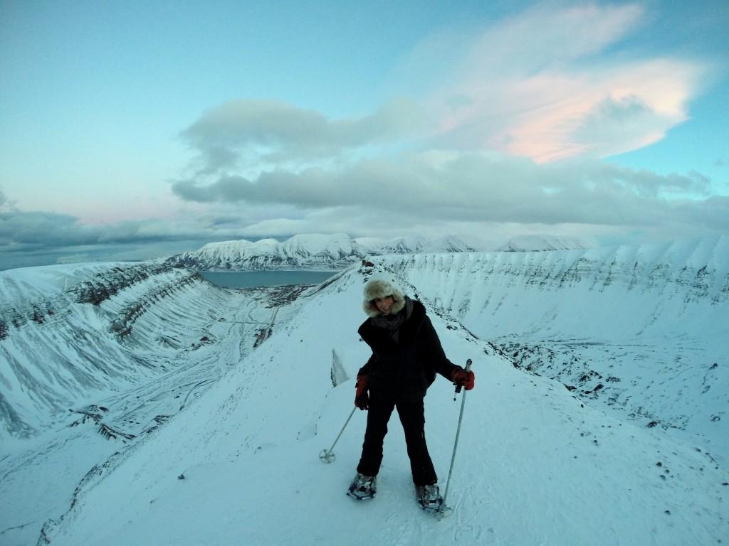 na lodowcu svalbard longyearbyen