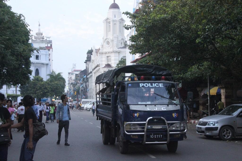 birma policja